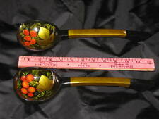 "Artistic Khohloma Russian Wooden Hand Painted 12"" Spoon Russia Folk Display Art"