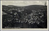Bad Gottleuba Sachsen alte Ansichtskarte ~1920/30 Teilansicht mit Panoramahöhe
