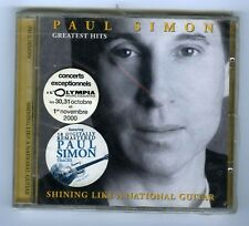 CD (NEW) PAUL SIMON GREATEST HITS SHINING LIKE A NATIONAL GUITAR