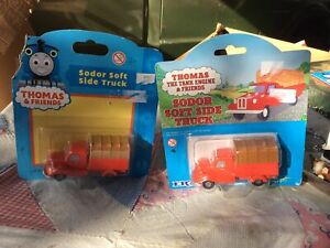 Thomas the Tank Engine Original Sodor Soft Side Truck 1999,2001 ERTL #4490 Lot