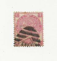 GB, 1867 3d deep rose wmk rose plate 10, SG102