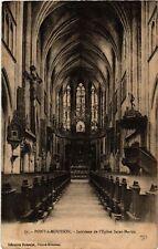 CPA  Pont-a-Mousson - Interieur de l'Eglise Saint-Martin  (484140)