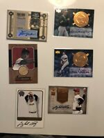 41 Baseball HOF Autographed Insert And Mail In Lot. Snider Robinson Stargel +++