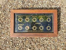 More details for antique butlers servants bell box 10 windows country manor harpenden