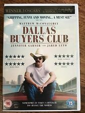 Matthew McConaughey DALLAS BUYERS CLUB ~ 2013 AIDS HIV Drama | UK DVD BNIB