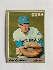 1970 O-Pee-Chee #46 Ken Rudolph - Chicago Cubs