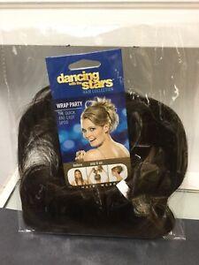 POP WRAP PARTY Hair Scrunchie Elastic Hairpiece, R10 Chestnut Brown
