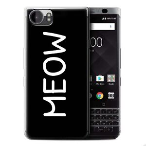 STUFF4 Gel/TPU Case/Cover for Blackberry KeyOne/BBB100/Cute Cartoon Cat