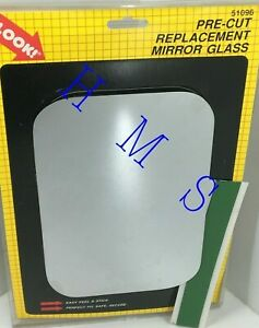 "MOTOMITE DORMAN 51096 UNIVERSAL TRUCK MIRROR GLASS FITS 9-1/32""X6"" LEFT & RIGHT"