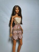 OOAK Glamourus dolls dress Fit Fashion Royalty Nuface Poppy Parker Read!