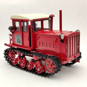 1:12 China Dongfanghong-54 Tracked Tractor Diecast Models Car Limited Collection