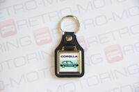 Toyota Corolla AE92 GT Keyring - Leatherette Retro Classic Car Auto Keytag