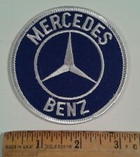 """Mercedes-Benz Round Logo Embroidered Patch Iron On 3"""""""