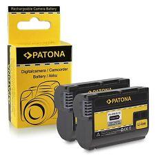 X2 batterie enel15 per nikon d600 d610 nikon 1 V1 nikon d750 patona 1600 mah