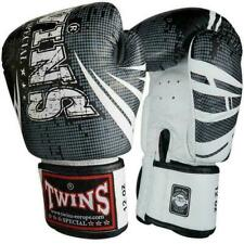 Twins Special Muay Thai Boxing Gloves Black - White