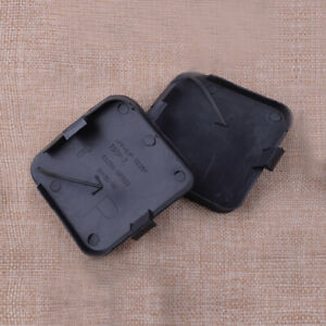 Left + Right Front Bumper Tow Hook Eye Cover Cap fit for Toyota RAV4 2009-2012