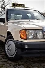 Mercedes W124 Oldtimer Taxi Benziner