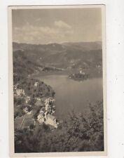 Bled S Triglavom Jugoslavia Vintage Postcard 865a