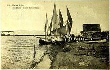 Cartolina Formato Piccolo - Marina Di Pisa - Boccadarno - Ritorno Delle Paranze