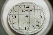 Cartier WATCH PART PARTS Automatic Gold Markers 26mm White Dial - GENUINE, NEW