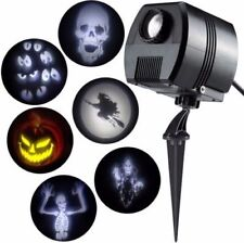 Lightshow Specter Gemmy Outdoor Animated Halloween Projector 6 Slides New