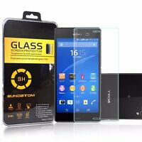 Ultra Clear Tempered Hardened Glass Screen Protector For Sony Xperia Z3 New