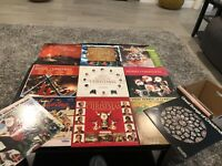 Lot of 11 Vintage Christmas LP Record Albums