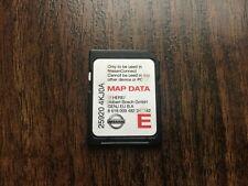 GENUINE NISSAN CONNECT LCN2 KAI SAT NAV NAVIGATION SD CARD 25920 4KJ0A