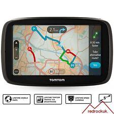 TomTom GO 51 5in GPS Sat Nav - Worlwide Lifetime Maps & Traffic Via Smartphone