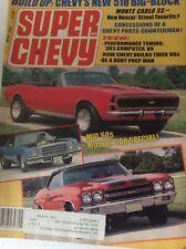 Super Chevy Magazine Monte Carlo SS 305 Computer V8 April 1983 090417nonrh