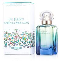 NEW Hermes Un Jardin Apres La Mousson EDT Natural Spray 50ml Perfume