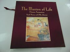 Disney Illusions of Life Signed Book Vintage Original Owner Hard to Find