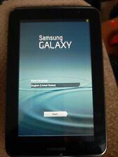 "SAMSUNG GALAXY TAB 2  CE0168 - 7"" 8GB ANDROID 4.4.2 WI-FI BLACK"