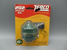 Vintage 1999 New Sealed Pack Zebco 202 All-Metal Helical Gears Reel / Usa Made
