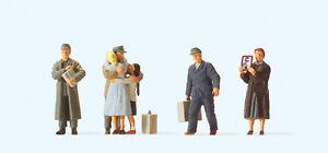 """PREISER 10612 H0 Figurines """" Returnees """" # New Original Packaging ##"""