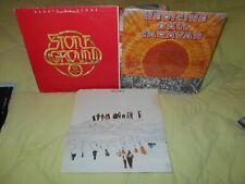 Medicine Ball Caravan SEALED! Stoneground Hearts Of Stone self titled 3 Lps Lot!