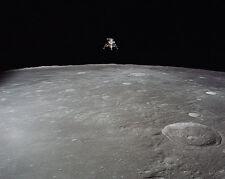 Apollo 12 Mond Modul Landing On Moon Nasa 8x10 Silber Halogen Fotodruck