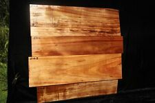 Hawaiian Curly Koa 4 PC. Billets # E-6