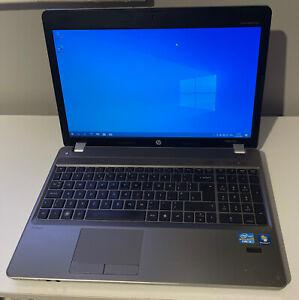 "HP ProBook 4530s 15.6"" Laptop i3 2nd Gen 6GB RAM 320GB HDD Windows 10 Pro"