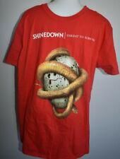 Shinedown Threat To Survival Shirt XL 2015 World Tour Concert Tee