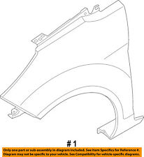 FORD OEM 11-16 Fiesta-Front Fender Quarter Panel Left BE8Z16006A