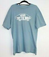 Vans Off The Wall Men's Custom Fit T-Shirt Size L