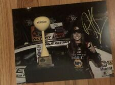Hailie Deegan Signed First Win 8x10 NASCAR Meridian