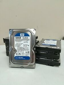 Lot Of 8 *Western Digital Blue* 500GB HDD 7200RPM (WD5000AAKX)