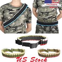Tactical 12 20 GA Shotgun Shell Bandolier 29 Rounds Shotshell Ammo Holder Belt