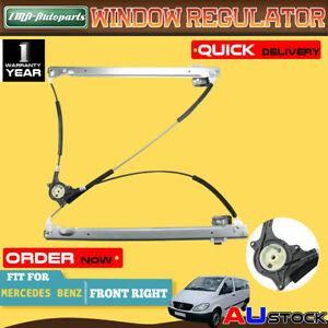 For Mercedes Benz Vito Viano W639 2005-14 Front Right Window Regulator W/o Motor