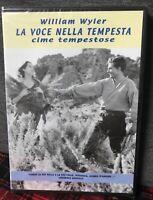 Cime Tempestose DVD Nuovo William Wyler La Voce Nella tempesta Emily Brontë