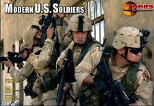 Mars 1/72nd Modern U.S. Soldiers Set 72003 New