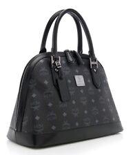 MCM Large Black Heritage Bowler Bag