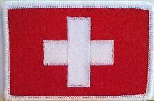 Santa Cruz de Mompox Flag Embroidery  BIKER Iron-On Patch  Emblem White Border